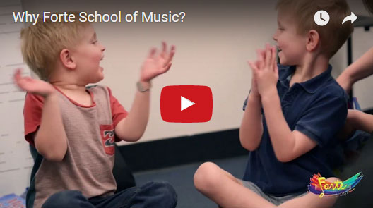 Next Video: - Why Forte School of Music? - Our music schools across Australia are inclusive and nurturing environments where your children will learn music and social skills ahead of their peers.