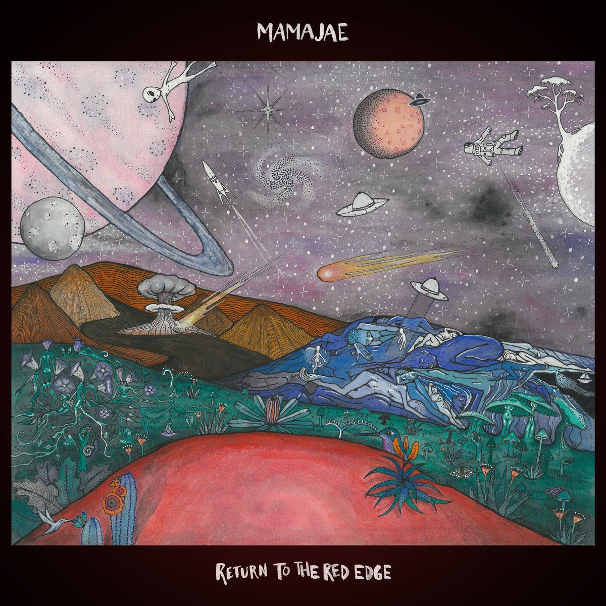 Mamajae - Return to the Red Edge EP Recorded @ Free Energy Device Studios Mixed - Dan Frizza