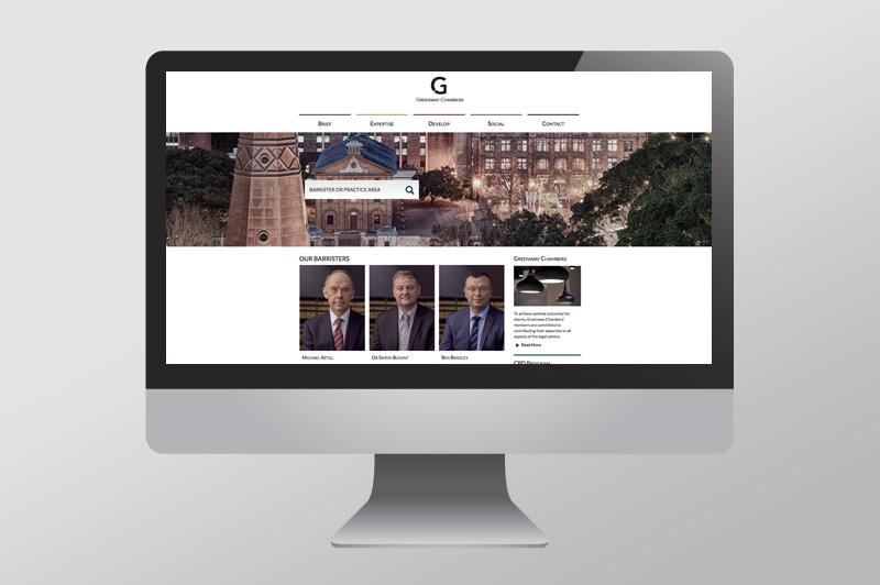 Greenway Chambers – Branding & Website Design  >