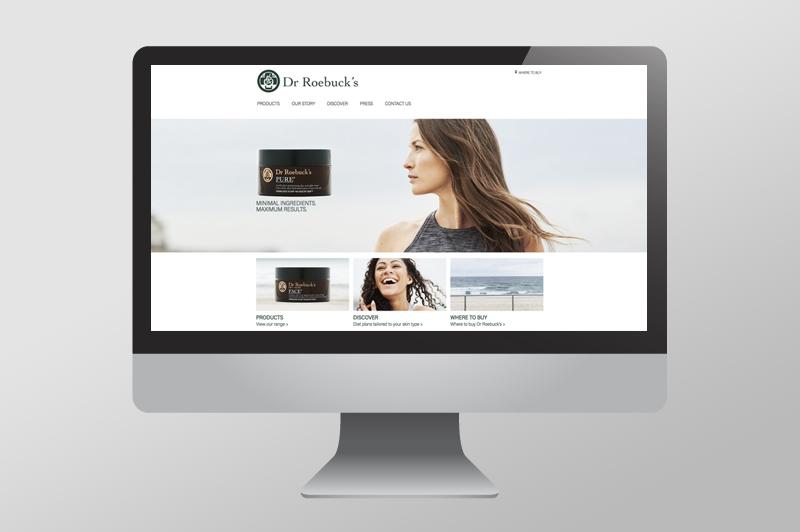 Dr. Roebucks – Website Design & Development  >