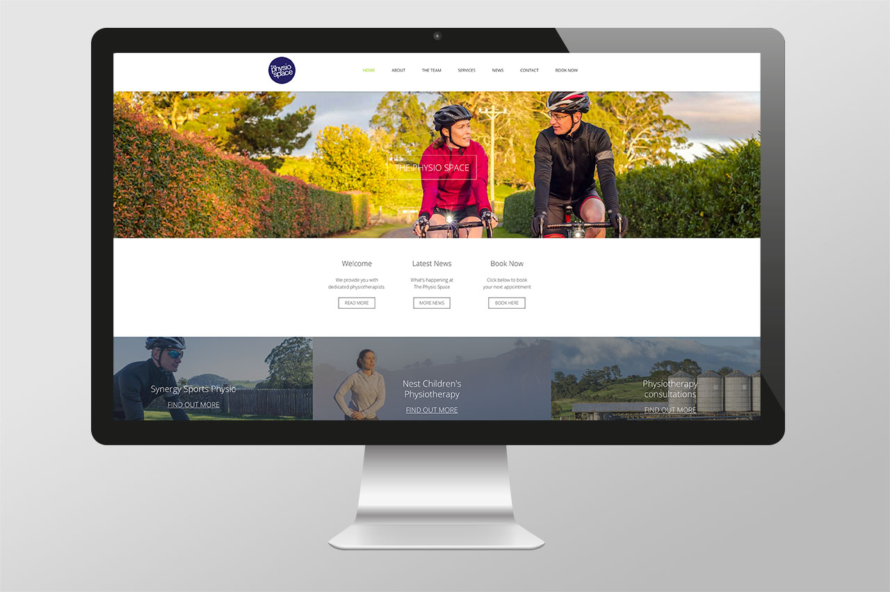 The Physio Space – Website Design & Development  >