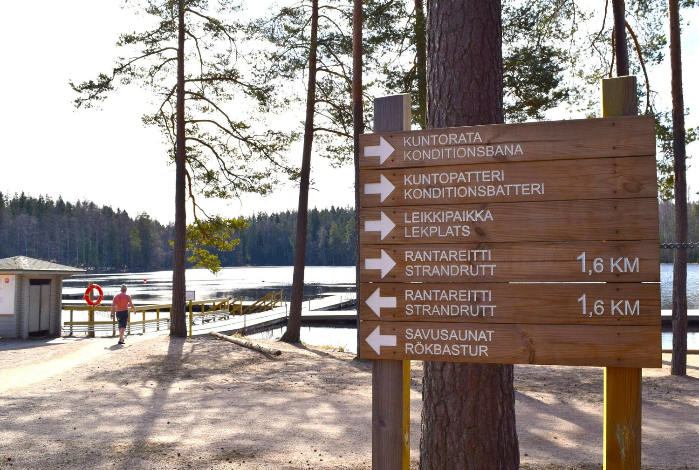 Ulkoilu Vantaa Retkeily Vantaa Kuusijarvi