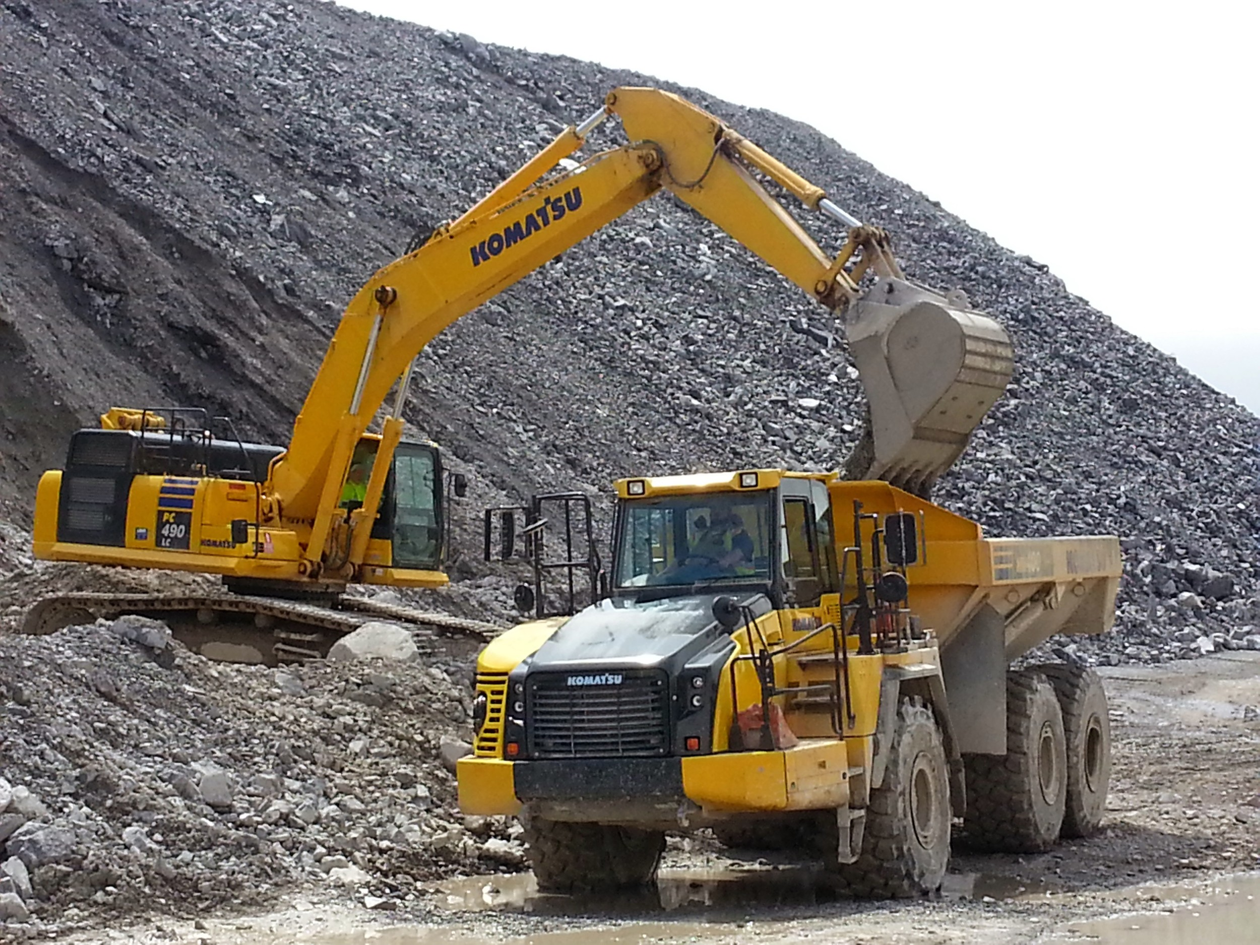 Graymont Lime Mine