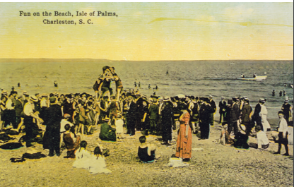 Historic postcards from City of Isle of Palms archives.