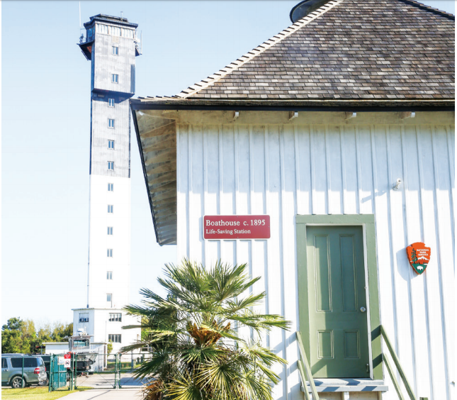 Plans are afoot to turn the building into a museum dedicated to the U.S. Life-Saving Service.