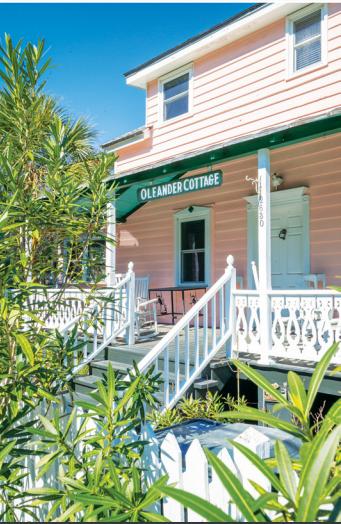 Oleander Cottage, Cathy Curtis's childhood summer home
