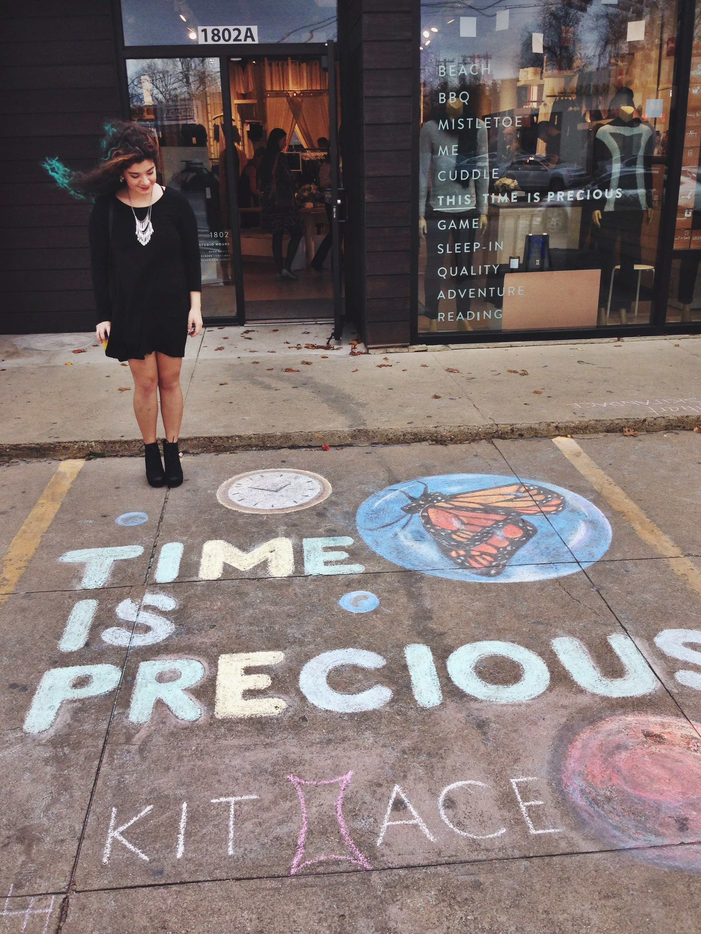 (ignore what I am holding) My time is precious.
