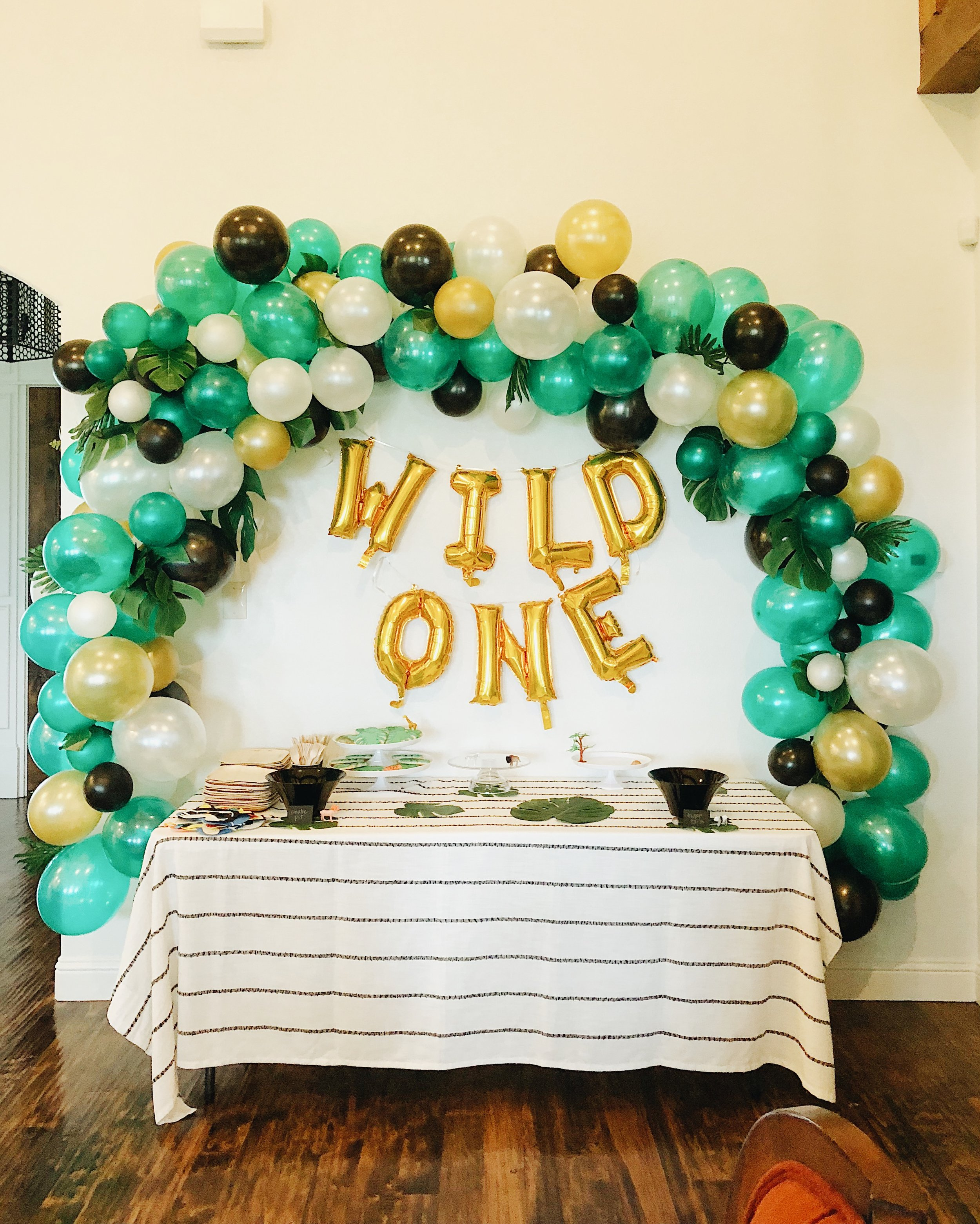 Balloon Garland for the wild child