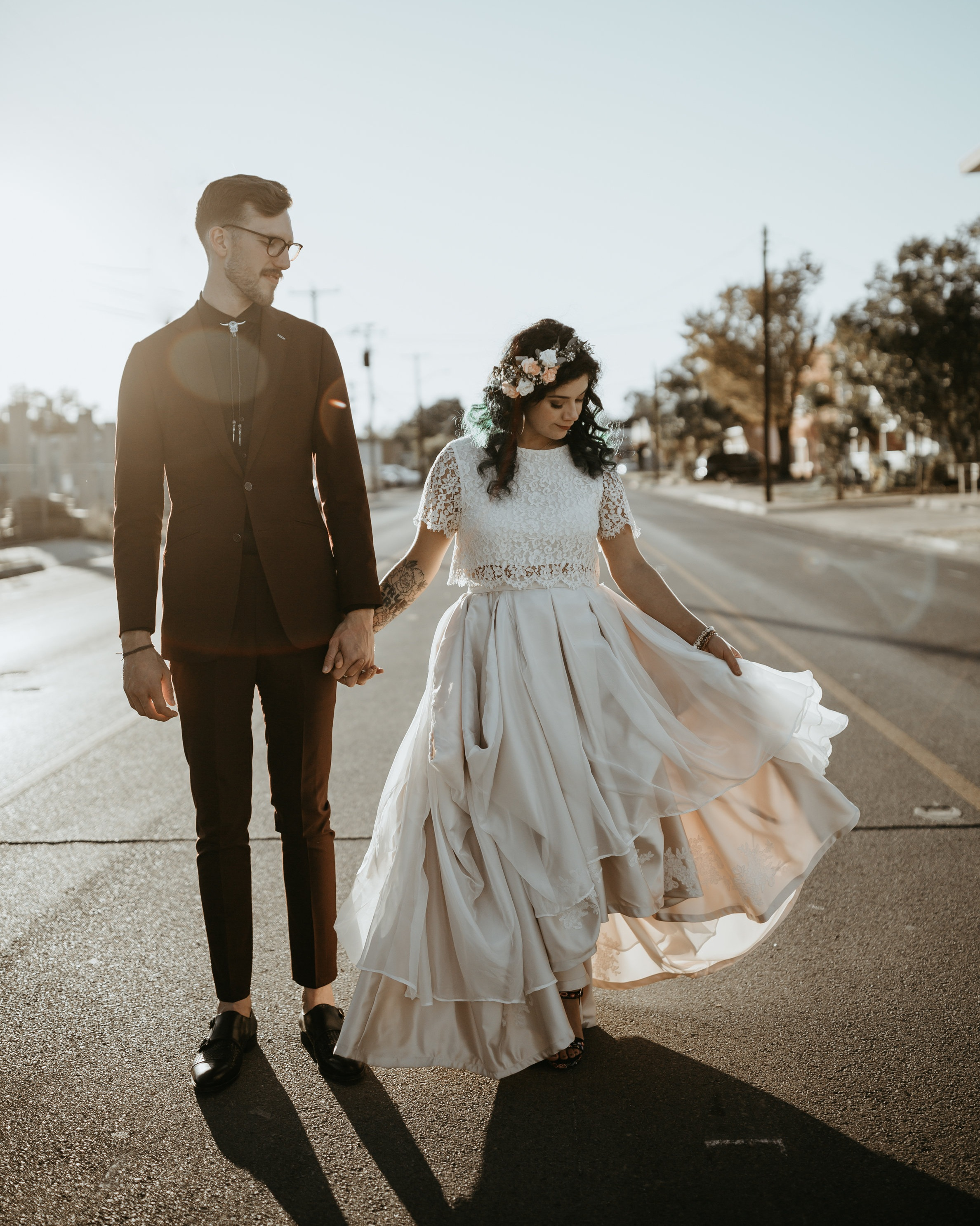 Modern Boho Mexican Inspired Wedding - Michael + Scout