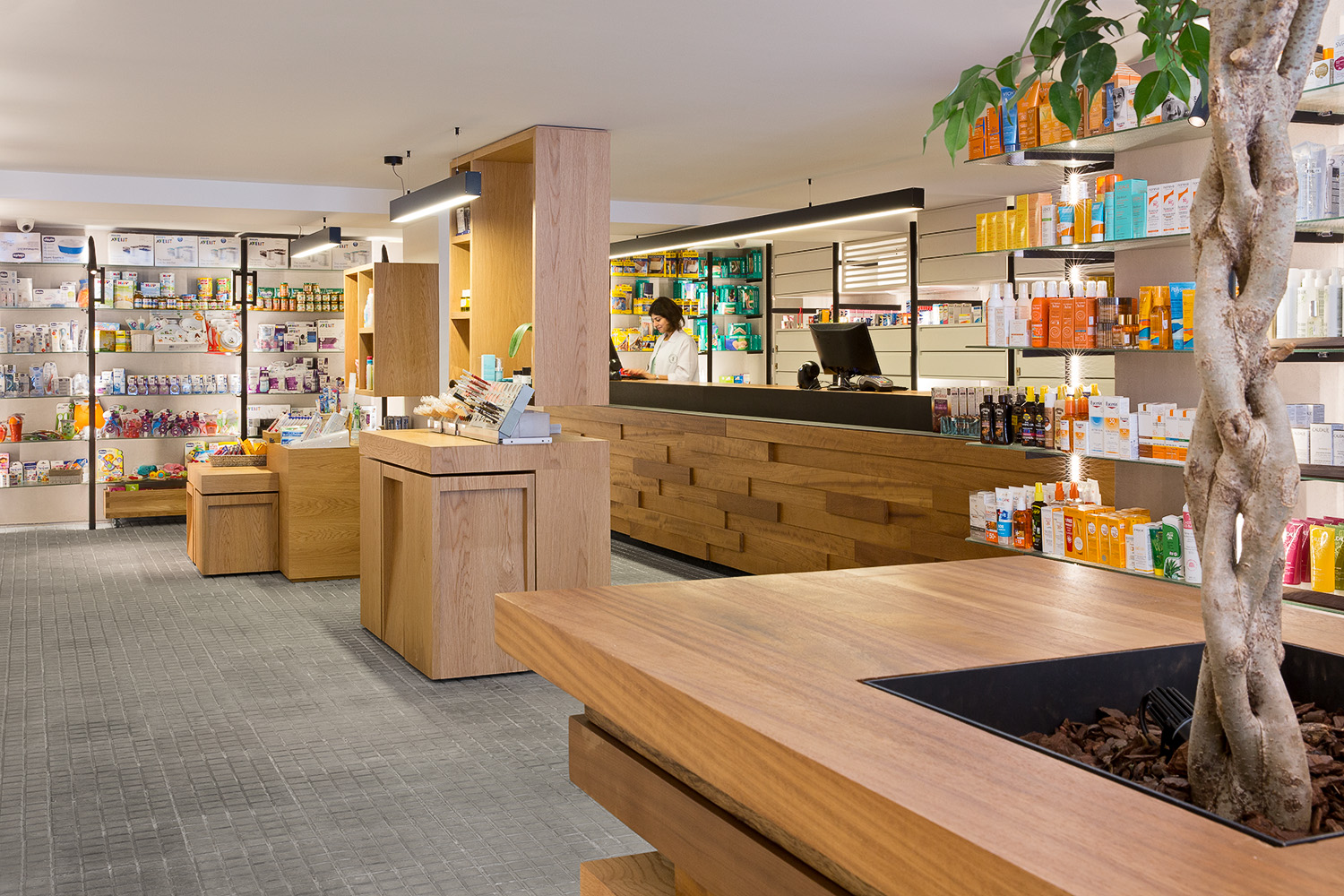 Pharmacie du Quartier - Karim Nader Studio and Blankpage Architects