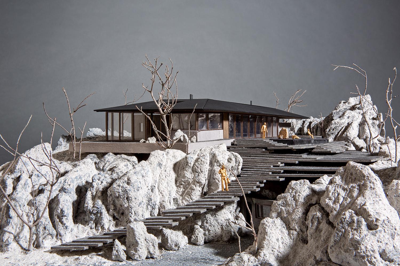 On The Rocks Model - Karim Nader Studio