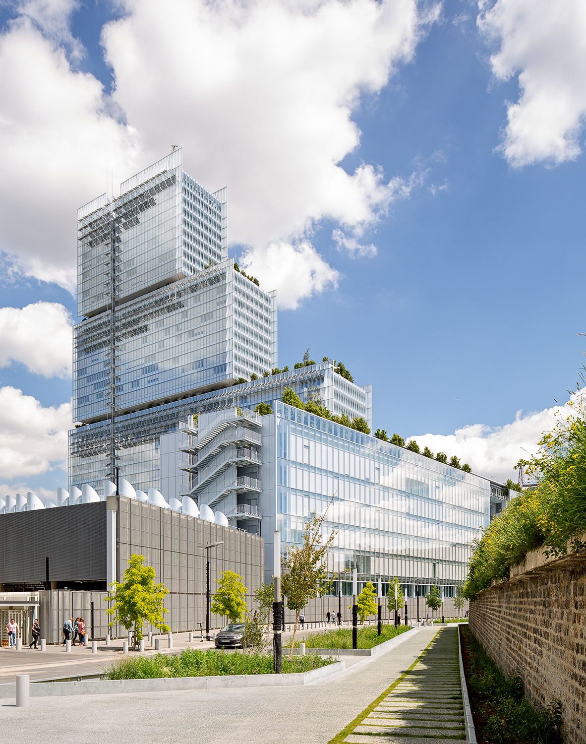 Paris Courthouse - Renzo Piano