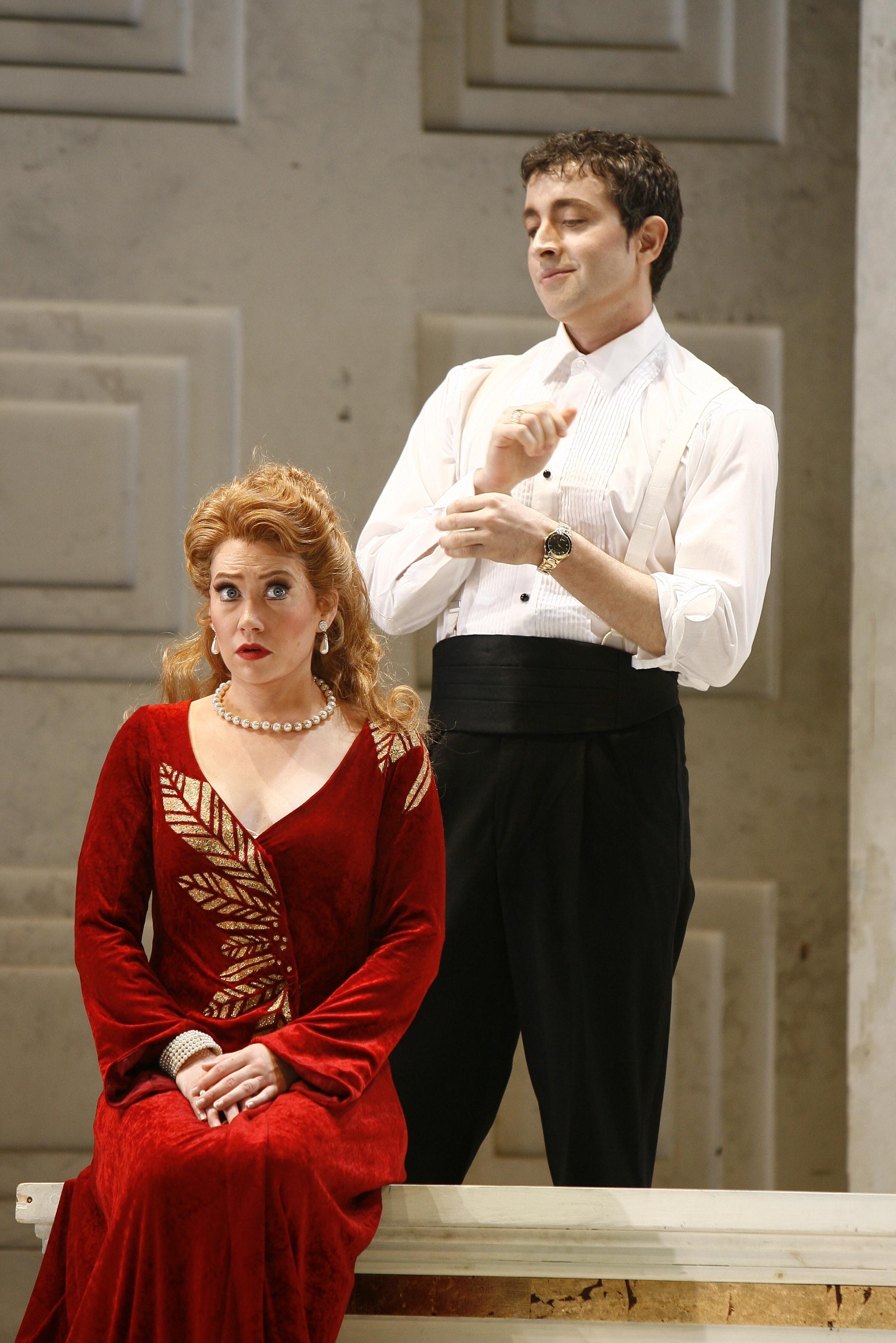 Poppea in AGRIPPINA, New York City Opera 2007  © Carol Rosegg