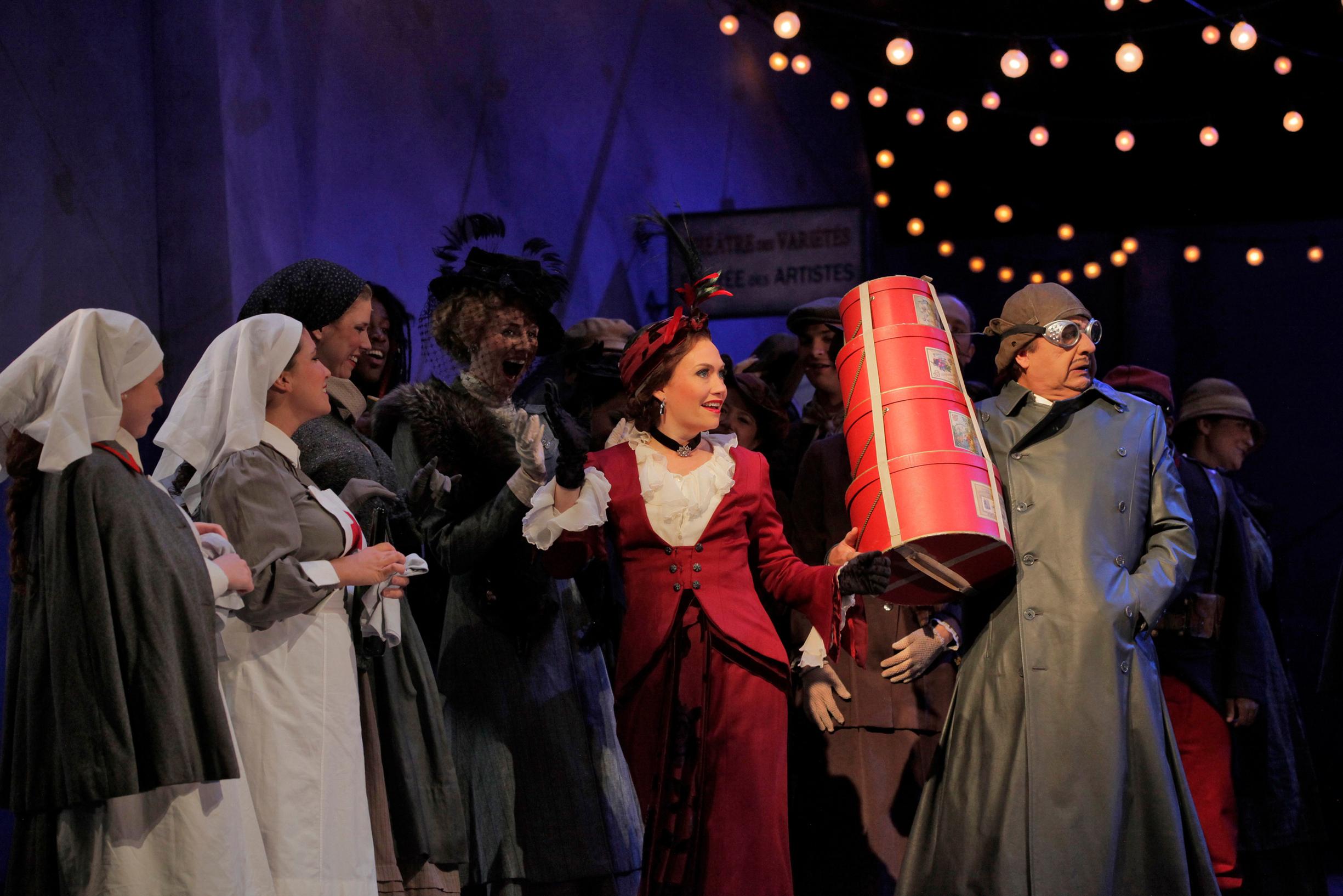 Musetta in LA BOHÈME, Santa Fe Opera 2011   © Ken Howard