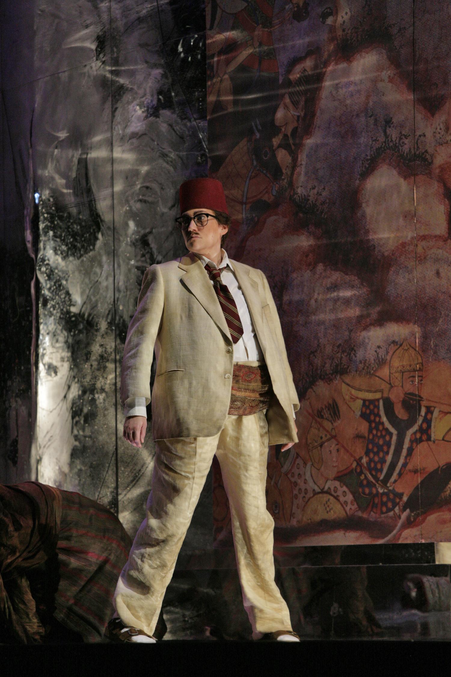 Tigrane in RADAMISTO, Santa Fe Opera 2008   © Ken Howard
