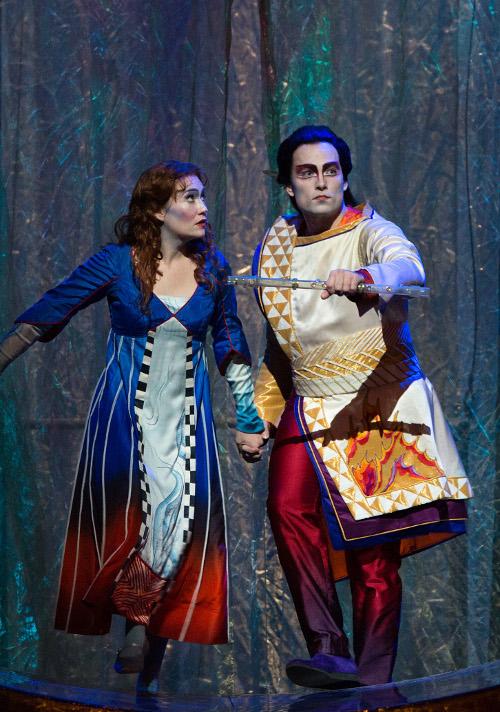 Pamina in The Magic Flute, The Metropolitan Opera 2013 © Ken Howard