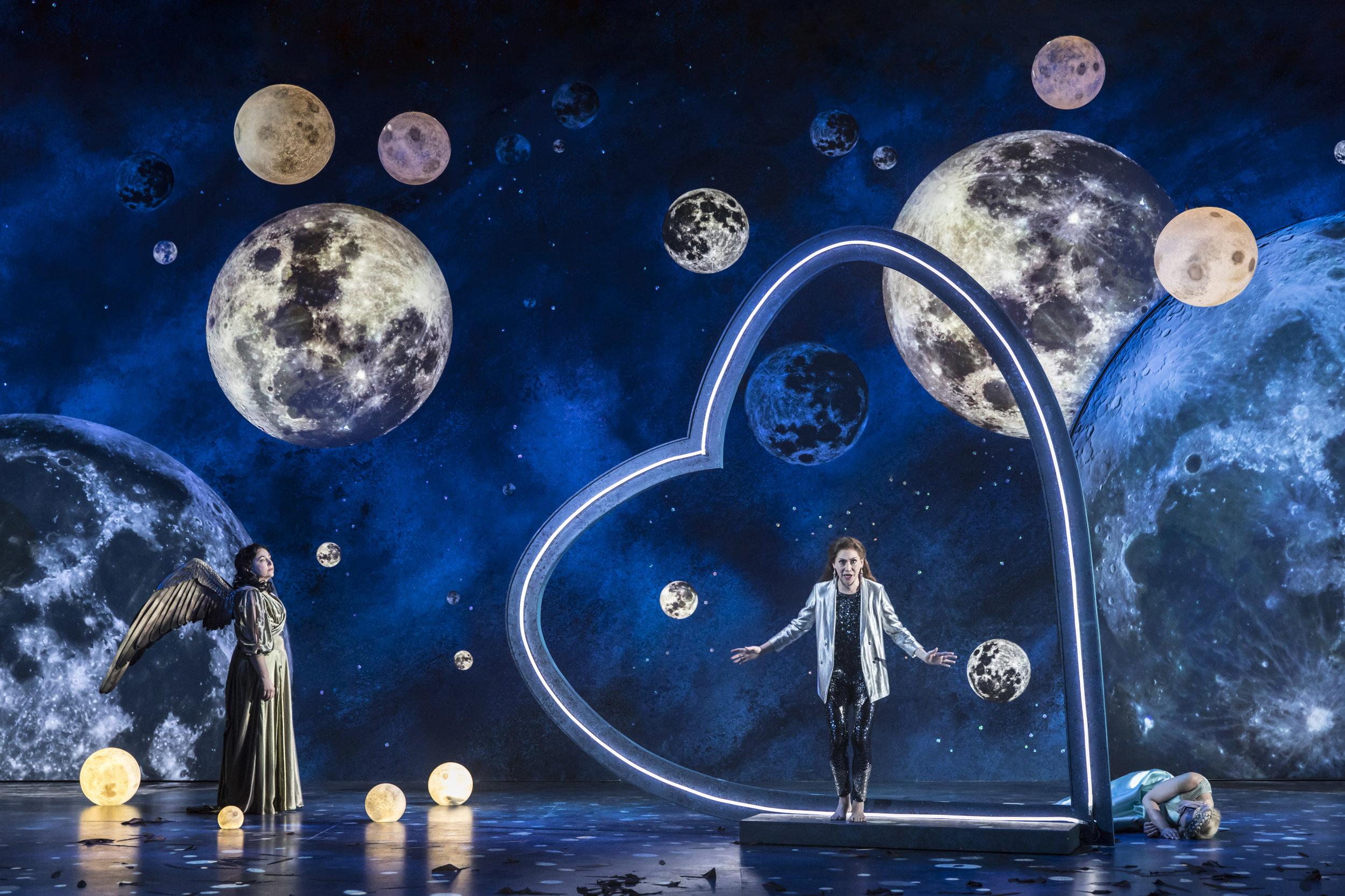 Semele in SEMELE, Garsington Opera 2017   © Johan Persson