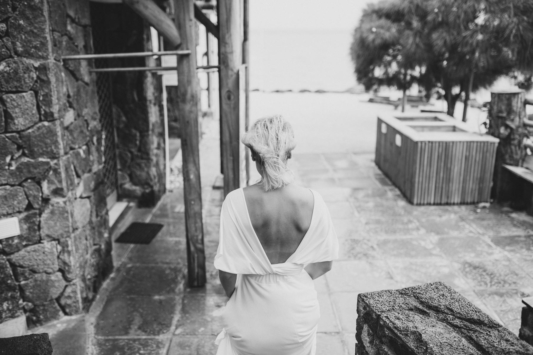 Copy of Sita Kelly | Mauritius Honeymoon Photographer | back of woman in white dress