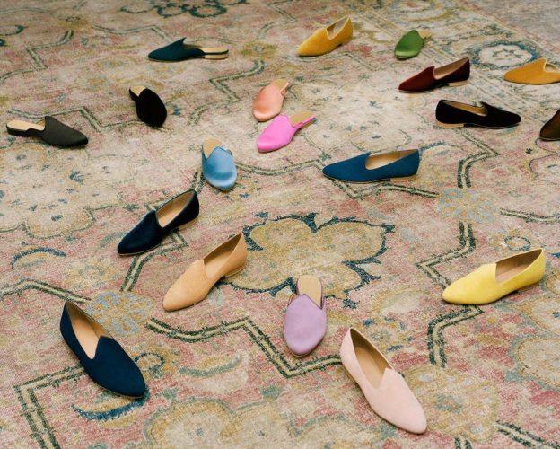 Le Monde Beryl: Velvet Slippers +Mules | Alexandrea Jarvis Architecture +Interiors
