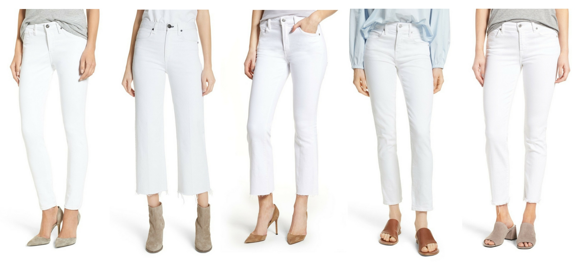 ALEXANDREA JARVIS | WORTH NOTING, PERFECT SUMMER WHITE JEANS