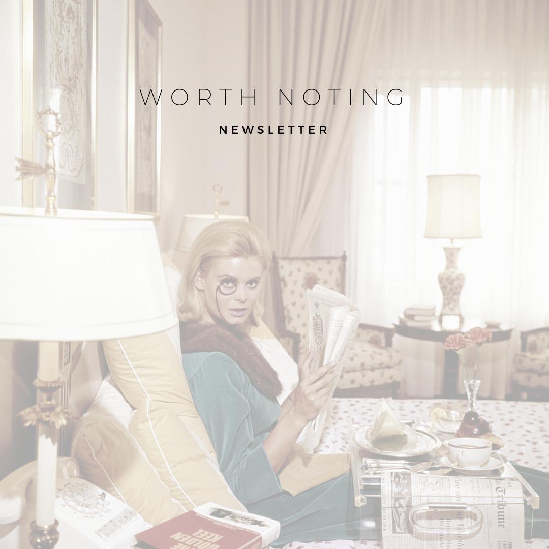 Alexandrea Jarvis - Worth Noting Newsletter