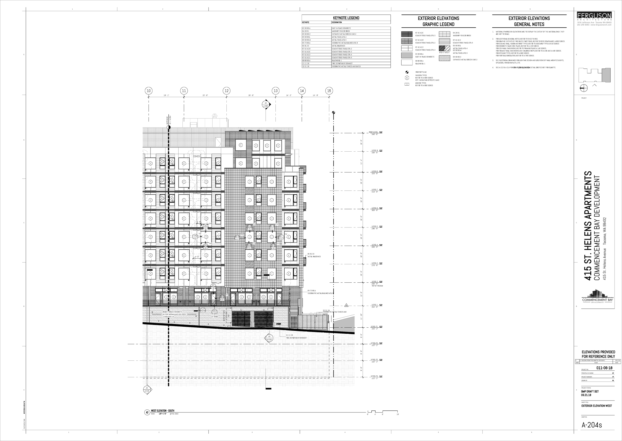 Work done for Ferguson Architecture