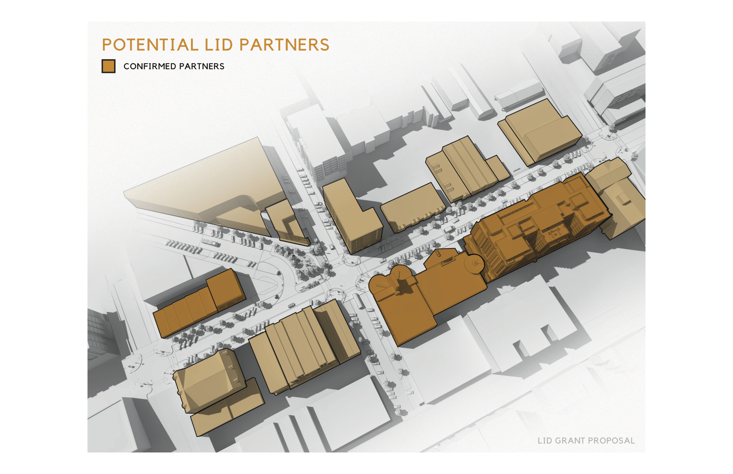 Work done for Ferguson Architecture - Led the design team for LID visioning (rendering by others)