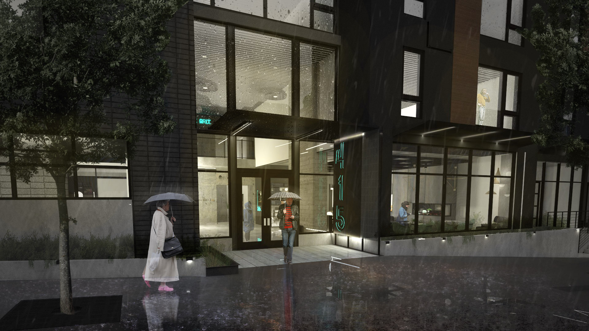 Work Done for Ferguson Architecture - Main Rendering - (Rendering by me and others)