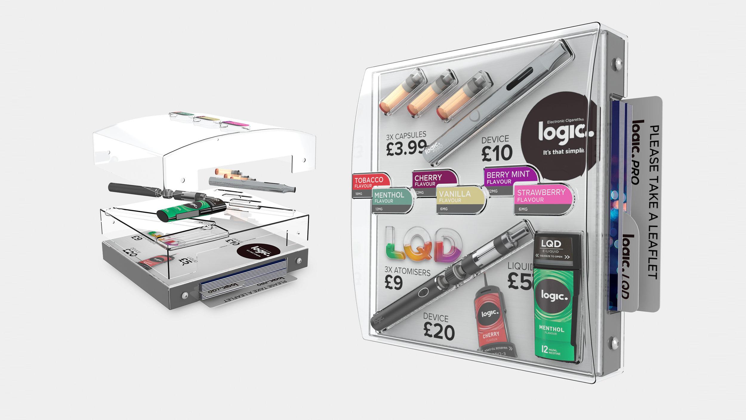 Logic Pro & Logic LQD Parasite Display Concept.