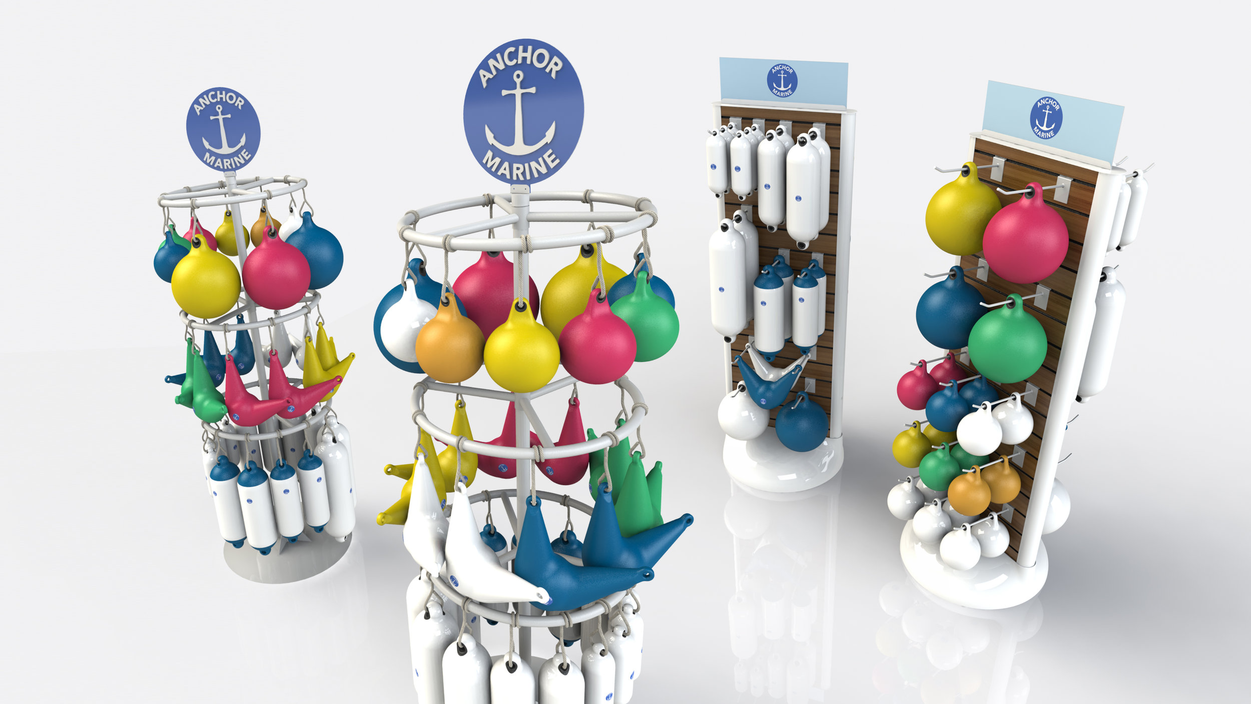 Buoy Display Concepts for Anchor Marine