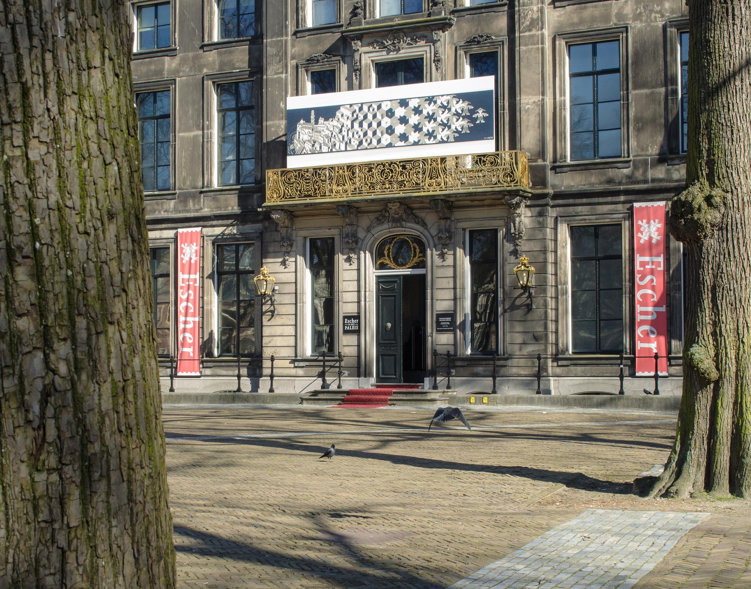 entrance the the Escher Museum