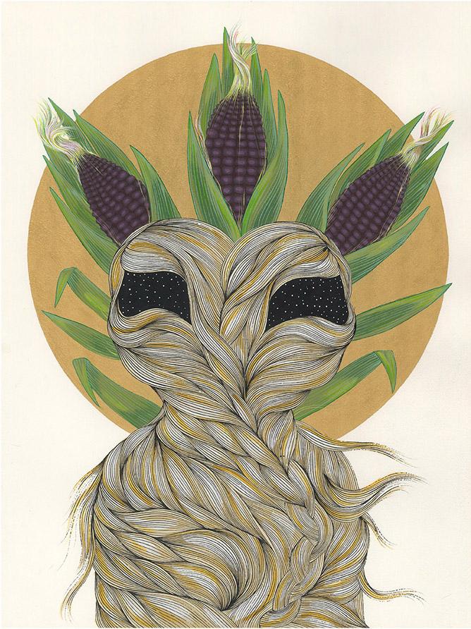 Blue Corn Maiden