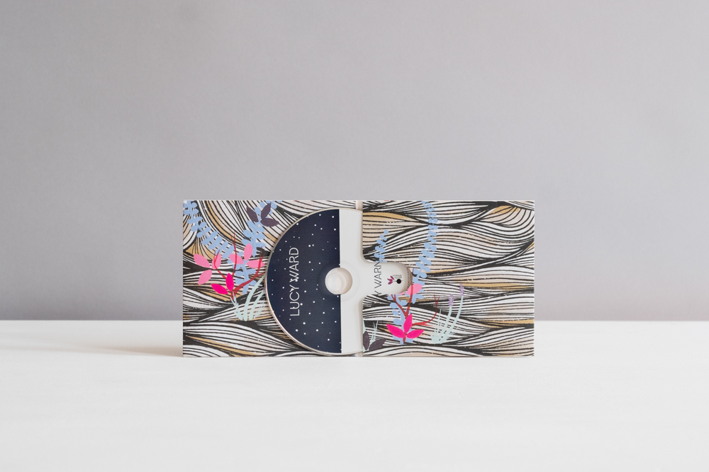 Inside package design for Lucy Ward  Pretty Warnings  album. Hannah Dansie creates beautiful artwork and illustrations available for commercial applications.