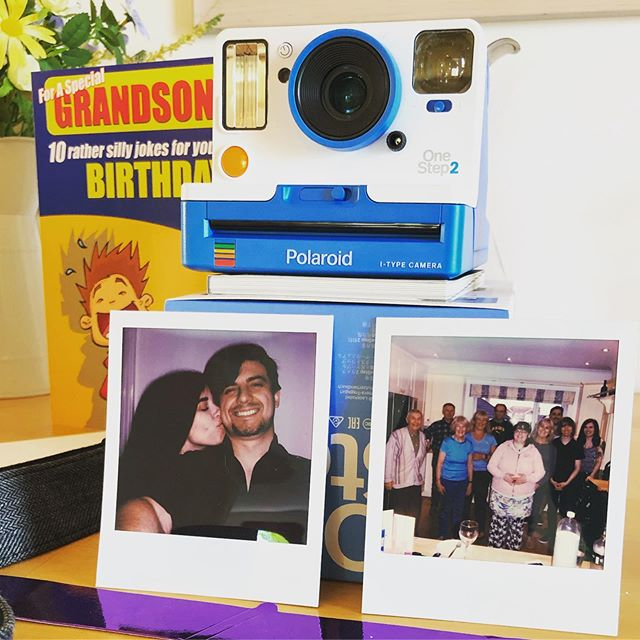 Had an amazing birthday. On to my penultimate year of my 20s! Thanks to my lovely girlfriend @chloejade_th for my awesome Polaroid camera! . . . . . . . .  #polaroid #instantphotos #birthday #gurlfriend