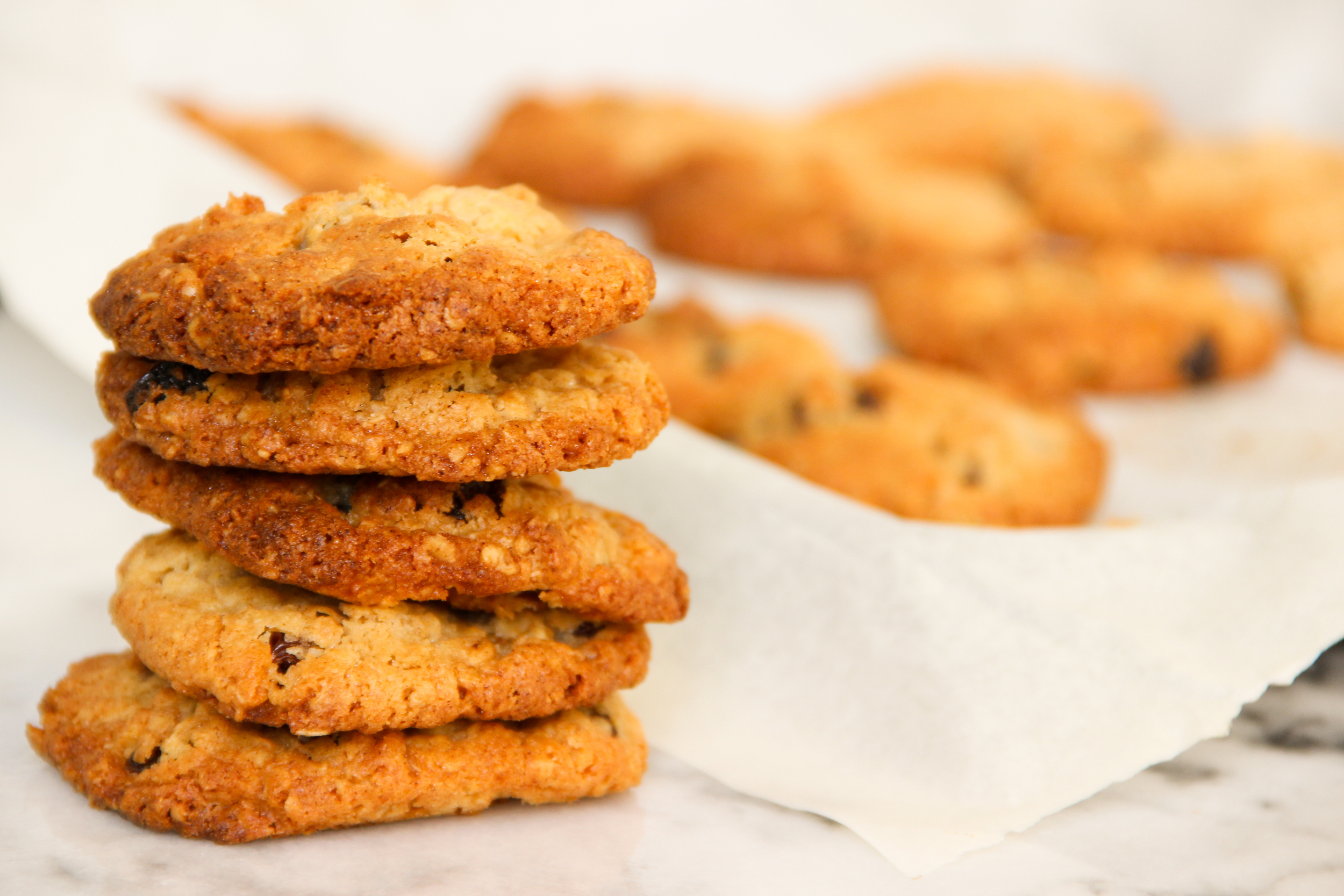 Homemade Recipe Raisin and Condensed Milk Cookies