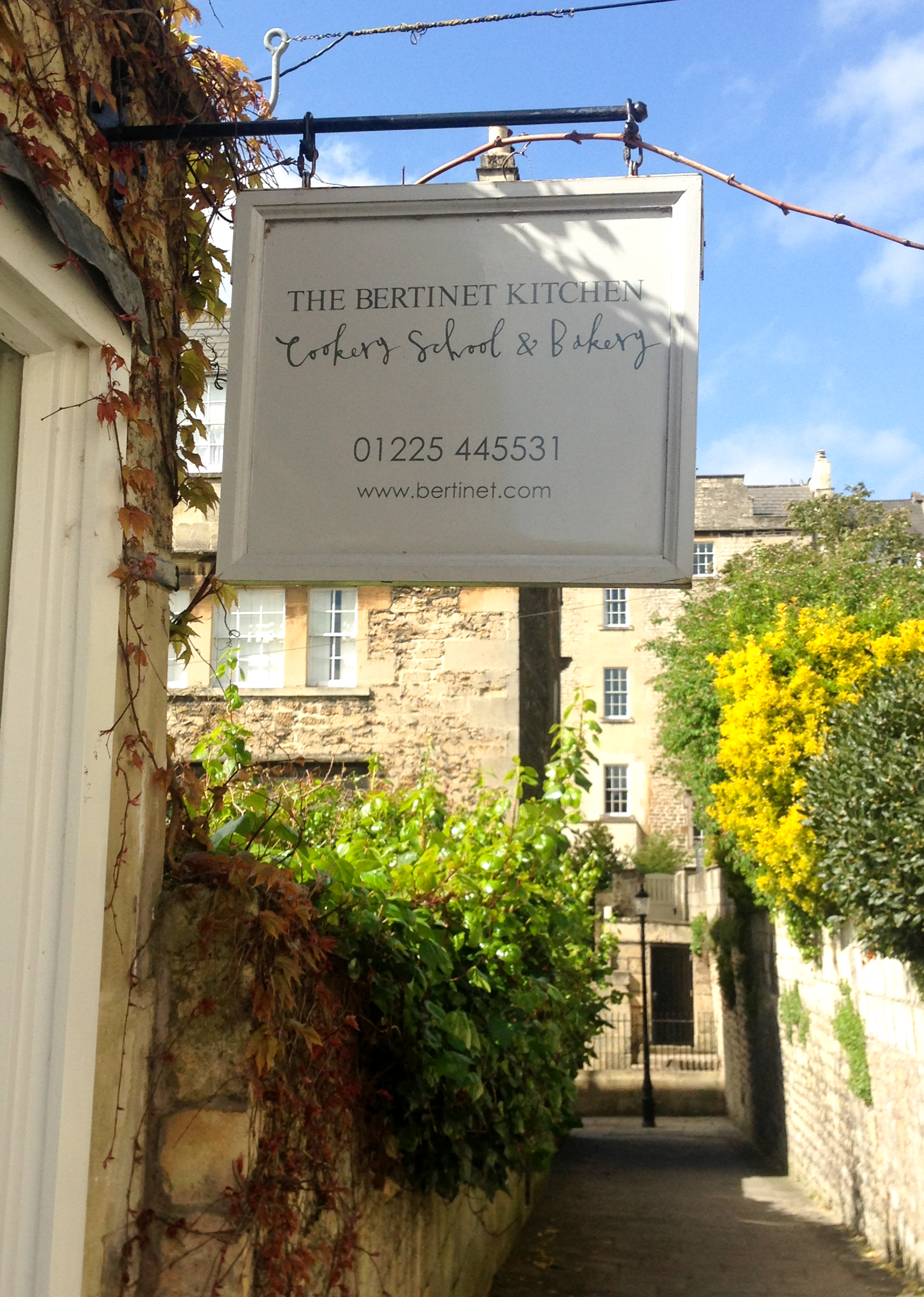 PERMISSION GRANTED TO TAKE IMAGE AT THE BERTINET KITCHEN & BAKERY - 12 ST ANDREW'S TERRACE