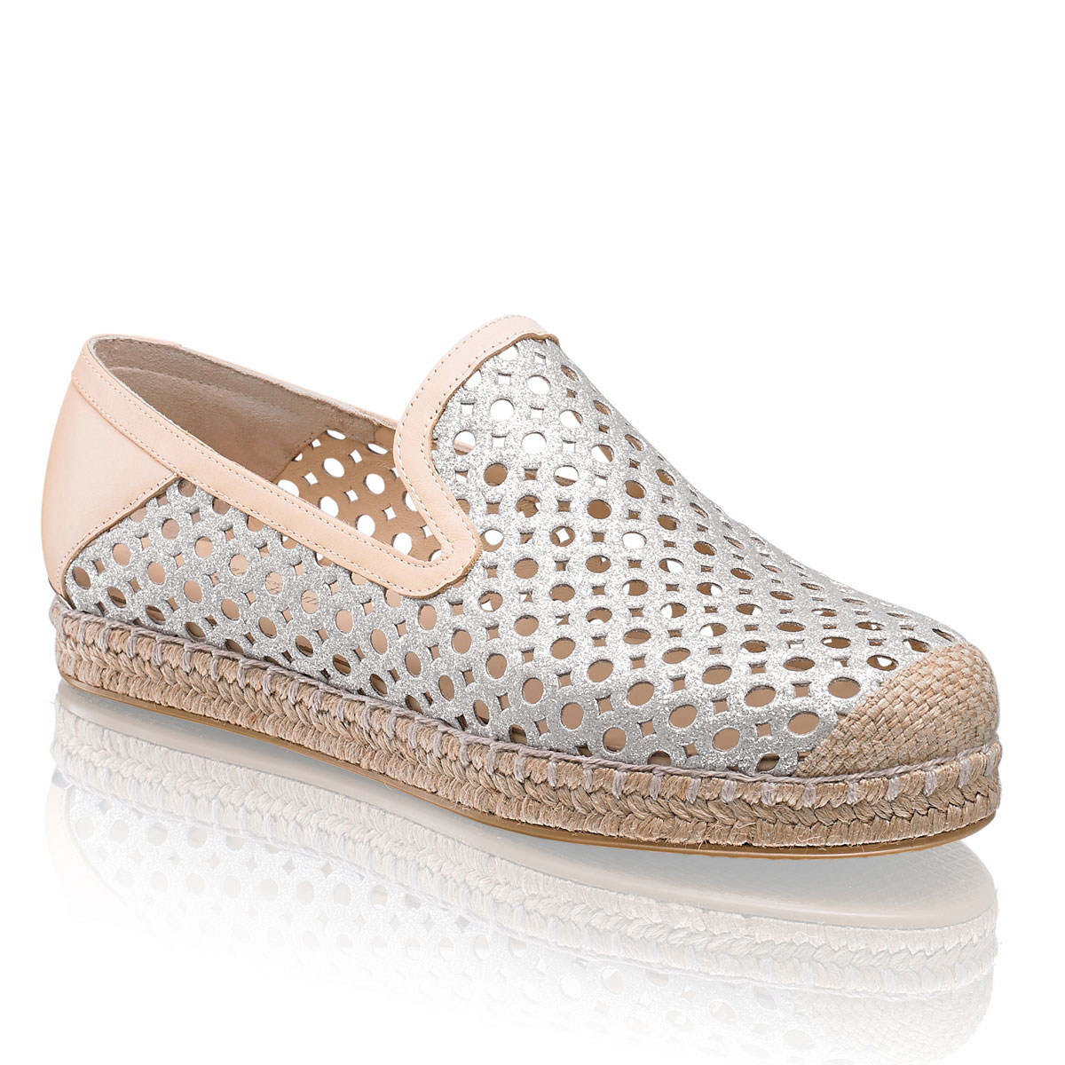 RUSSELL & BROMLEY - COUNTY PERFORATED ESPADRILLE £195
