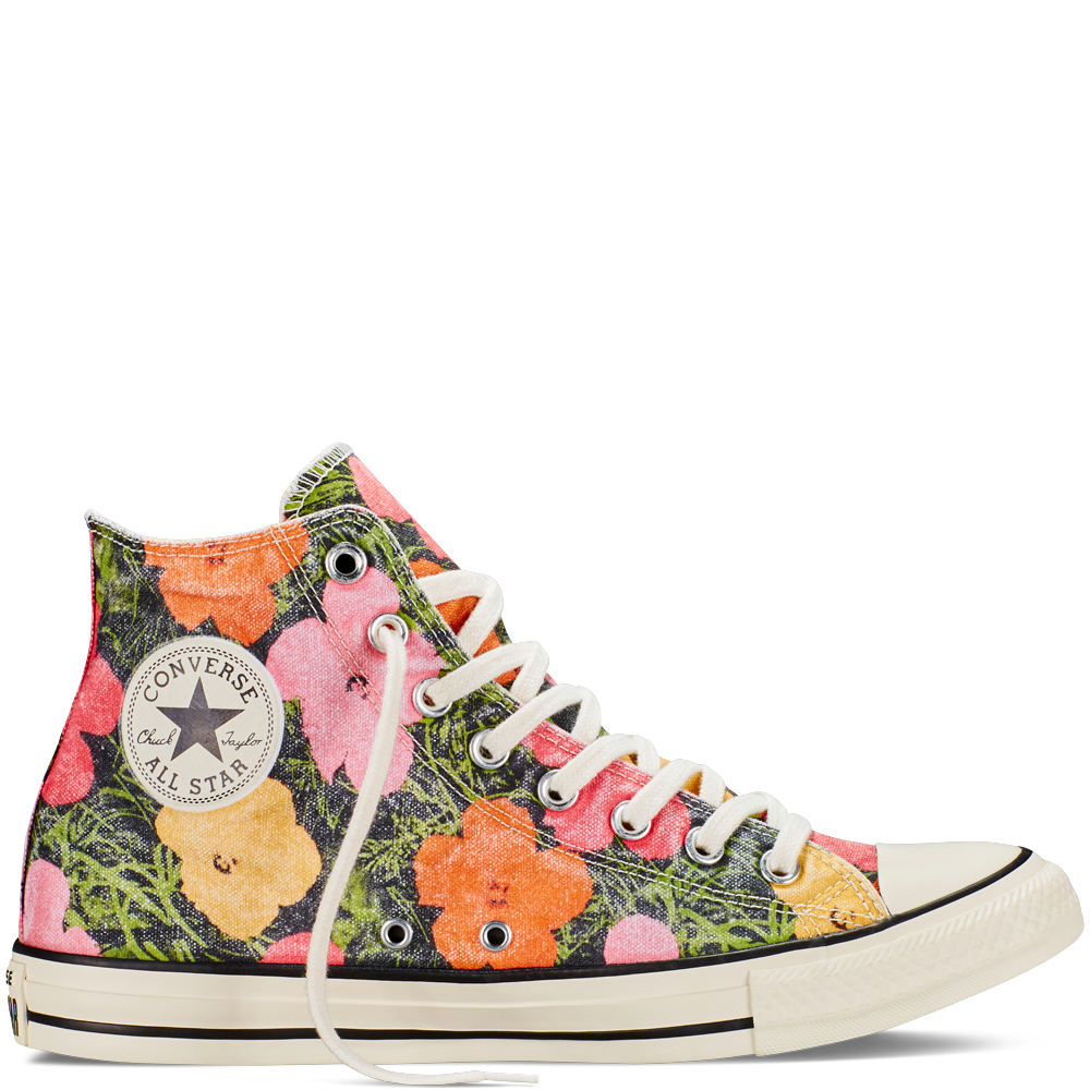 CONVERSE - CHUCK TAYLOR ALL STAR ANDY WARHOL FLORAL £55