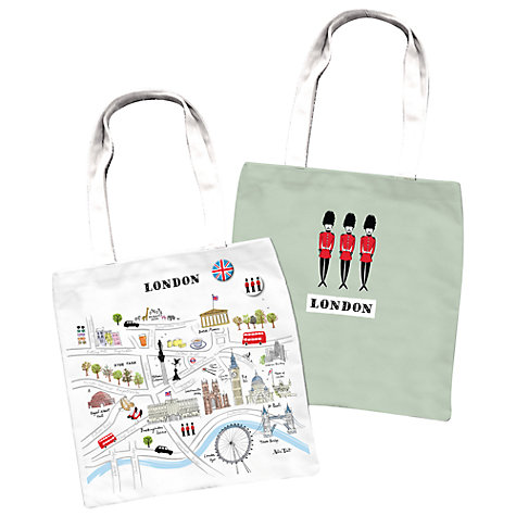 Alice Tait Map of London Shopper Bag