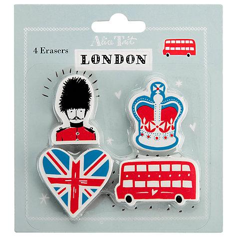 Alice Tait London Eraser Set