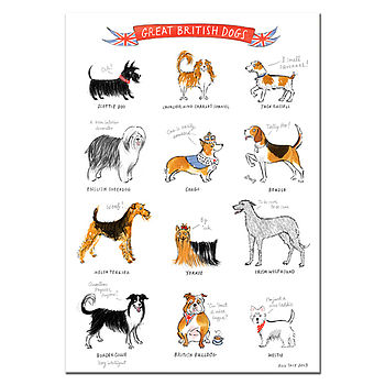 Alice Tait Great British Dogs Print