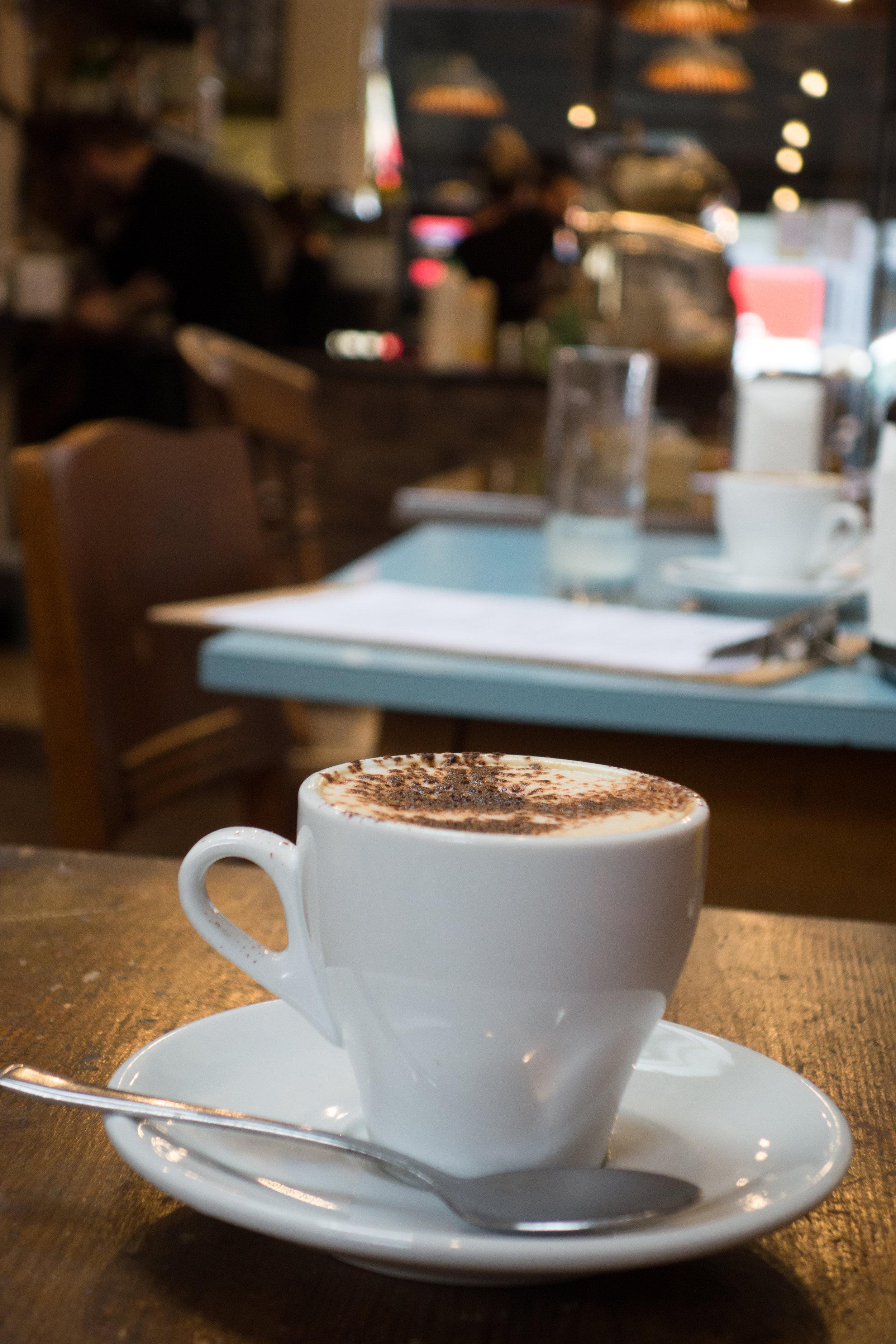 Chairs Coffee Fulham Road London The Bathonian