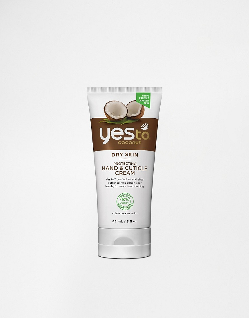 YES TO COCONUT PROTECTING HAND AND CUTICLE CREAM 85G £8