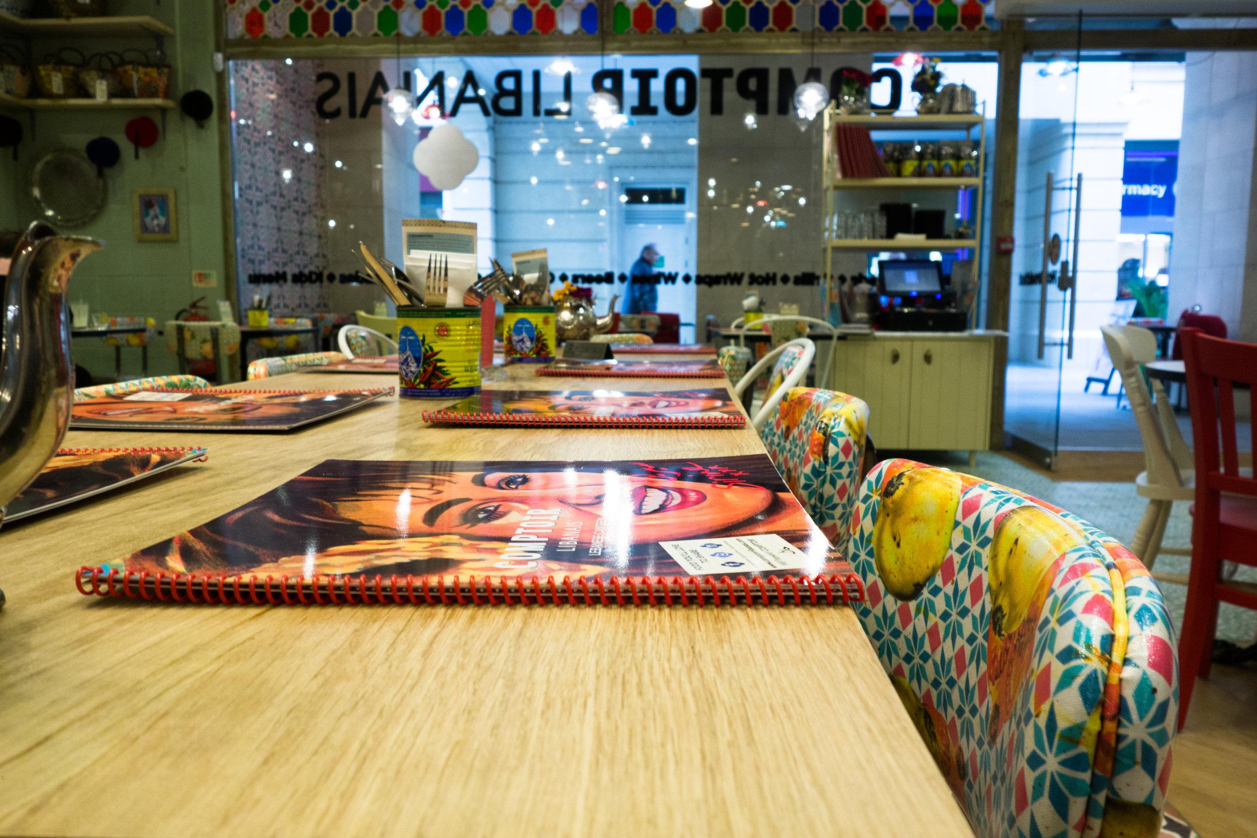 Comptoir Libanais Restaurant Review Bath Somerset
