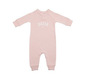 SPOTTY HERBERTS 'SISTER' ALL-IN-ONE BLUSH PINK - £24.00