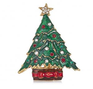 BILL SKINNER CHRISTMAS TREE BROOCH - £25.00