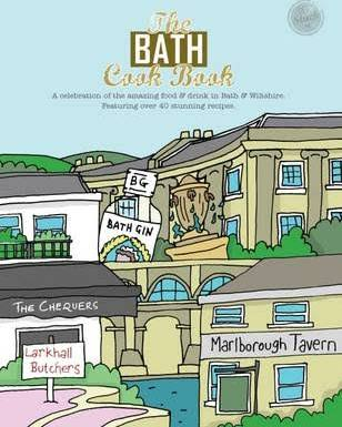 MEZE PUBLISHING THE BATH COOK BOOK - £14.95