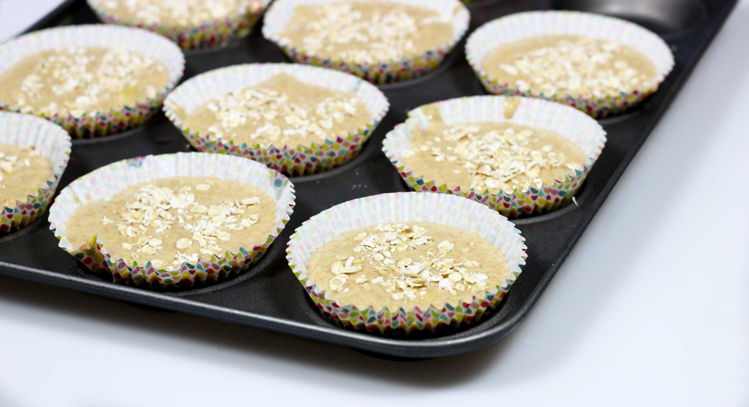 Homemade Recipe Whole Wheat Muffins