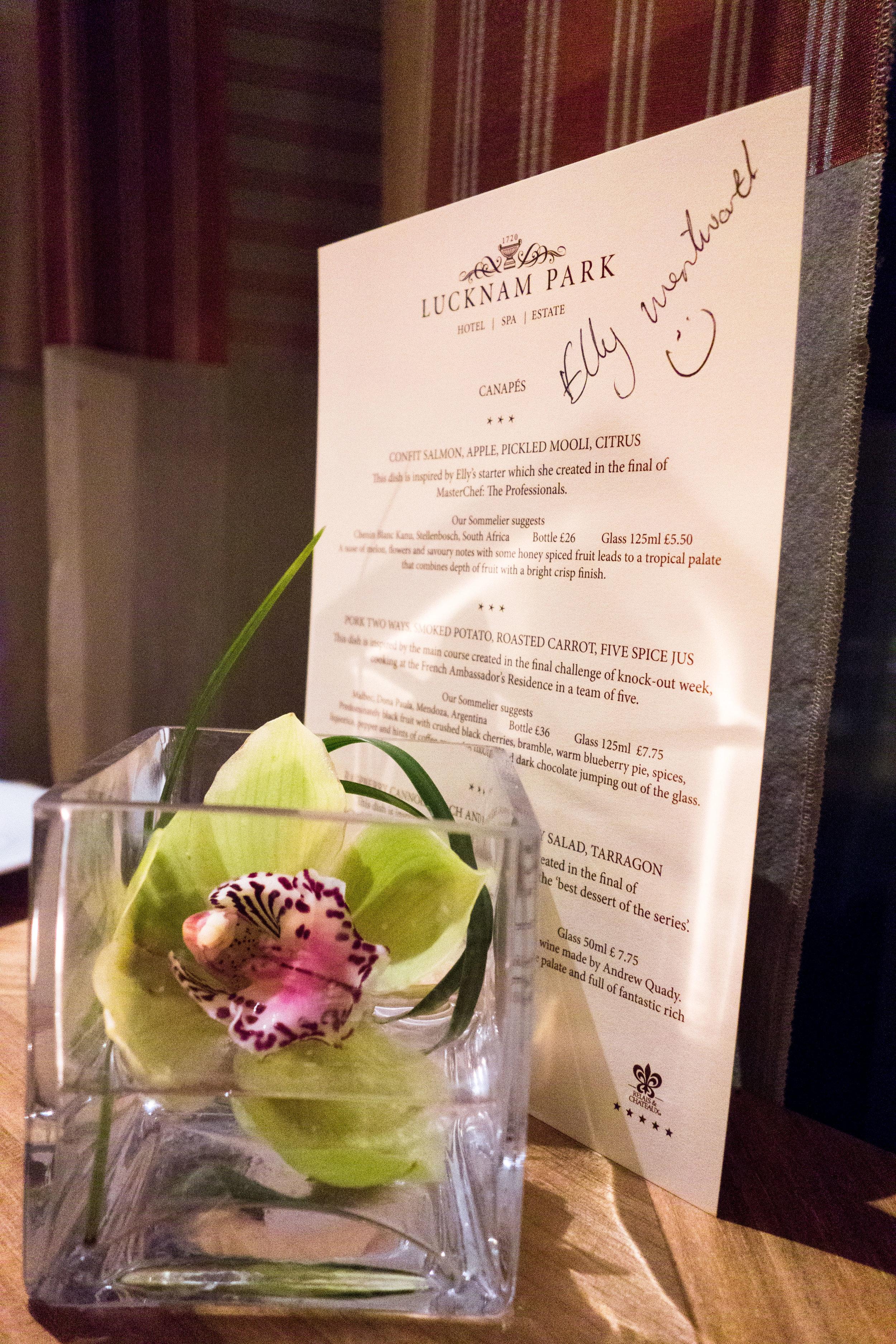 Lucknam Park The Brasserie Restaurant Review