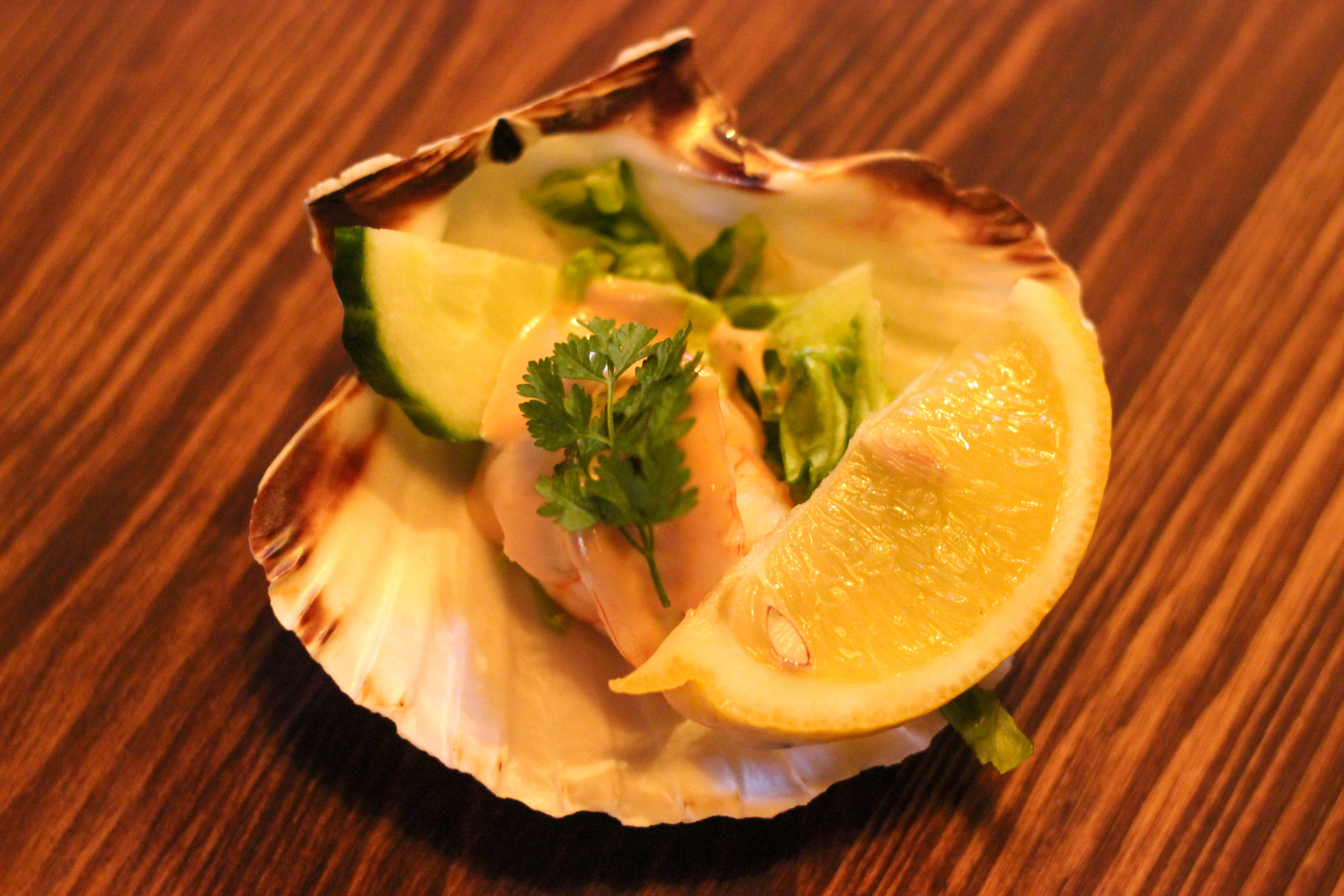 The Scallop Shell Restaurant Bath Review